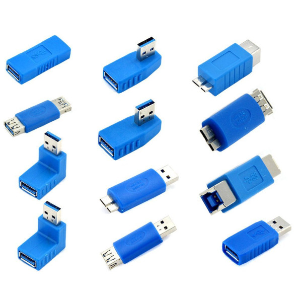 Kingtop USB 3.0 Adapter Coupler , 12 Pack