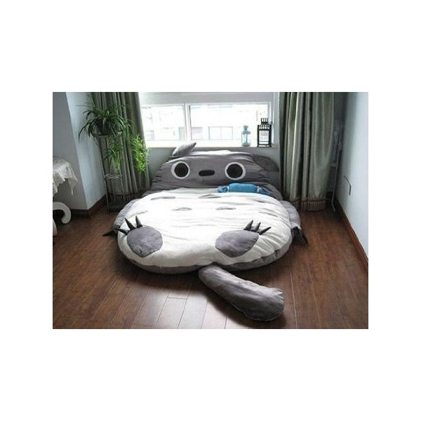 Leyou Totoro Design Bigsofa 2.7x1.7m Totoro Bed Totoro Double Bed Totoro Sleeping Bag