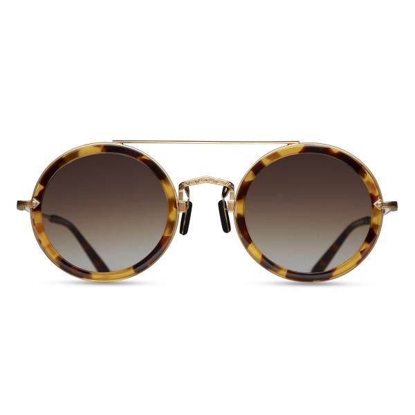 Matsuda M3039 Round Tokio Tortoise Sunglasses