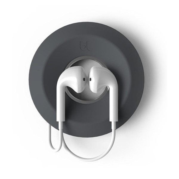 Bluelounge Cableyoyo Earbud Cable Management, Dark Grey