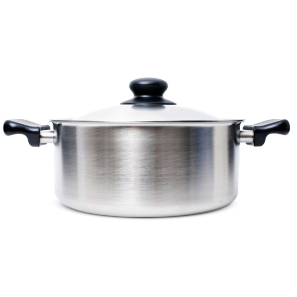 Stainless Steel Pan (Shallow) by Sori Yanagi