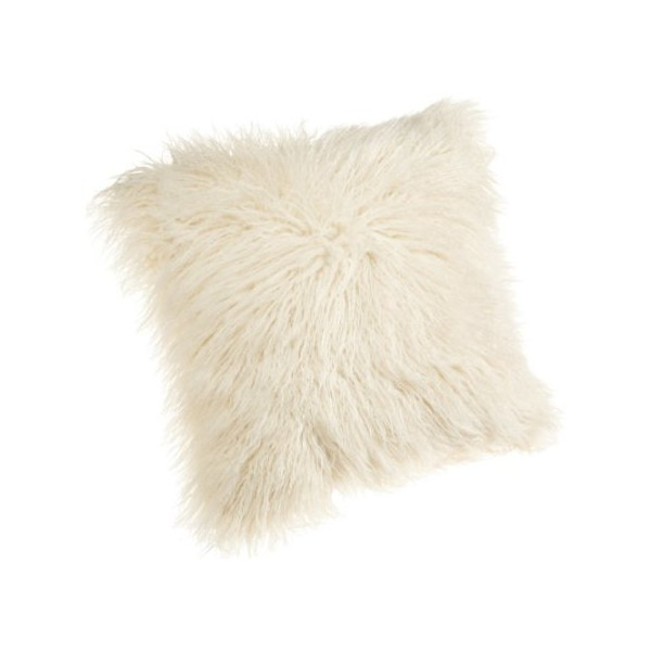 Brentwood 18-Inch Mongolian Faux Fur Pillow