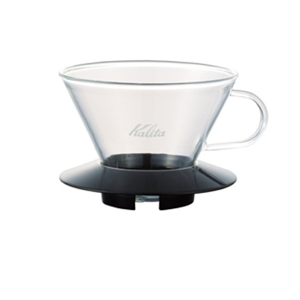 Kalita Wave Dripper 185 series glass [2-4] people for Black # 05039 (japan import)
