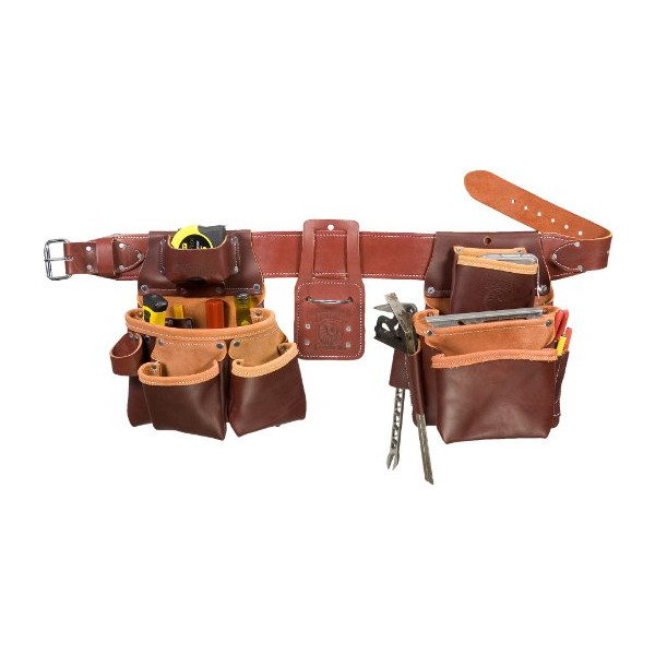 Occidental Leather 5080DBLH SM Pro Framer Set with Double Outer Bag,  Left Handed