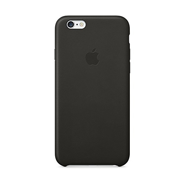 Apple iPhone 6 Leather Case Black, MGR62ZM_A
