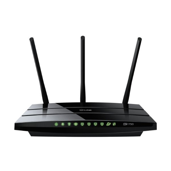 TP-LINK Archer C7 AC1750 Dual Band Wireless AC Gigabit Router, 2.4GHz 450Mbps+5Ghz 1300Mbps, 2 USB Port, IPv6, Guest Network