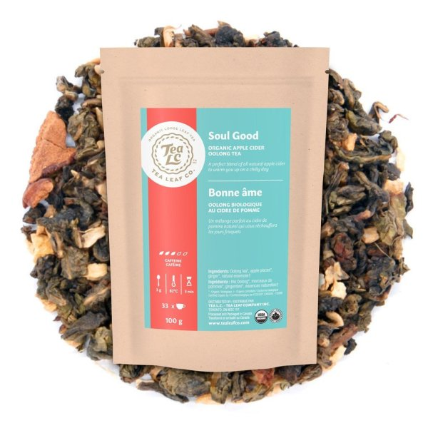 SOUL GOOD | Organic Apple Cider Loose Leaf Oolong Tea