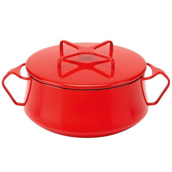 Dansk Kobenstyle Casserole, 2-Quart, Chili Red