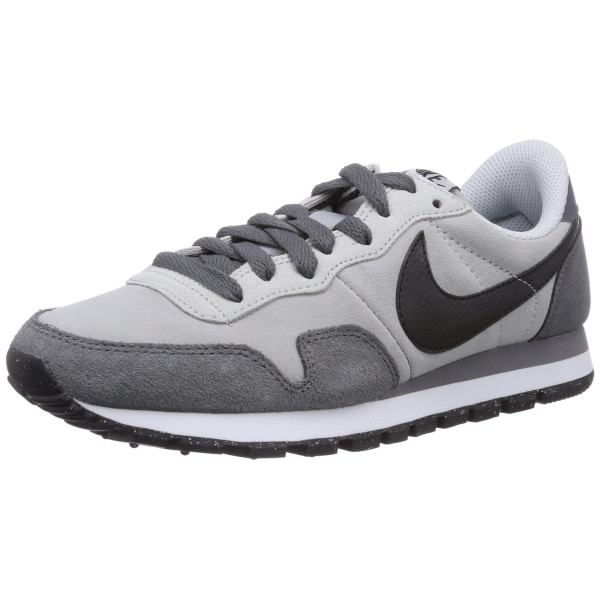 Nike Men's Air Pegasus 83 Ltr Wolf Grey/Black/Drk Gry/Cl Gry Running Shoe 10.5 Men US