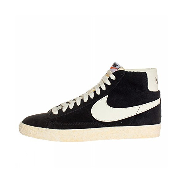 Nike Sportswear Blazer High Vntg Sneaker Black 10