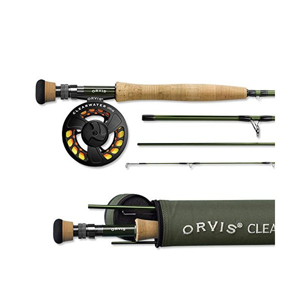 Orvis Clearwater Fly Rod 905-4 - 5wt 9ft 0in 4pc