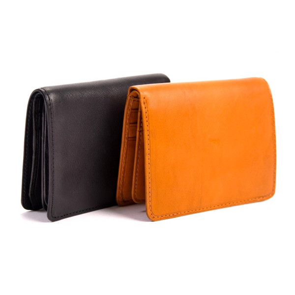 Tony Perotti Leather Front Pocket Wallet