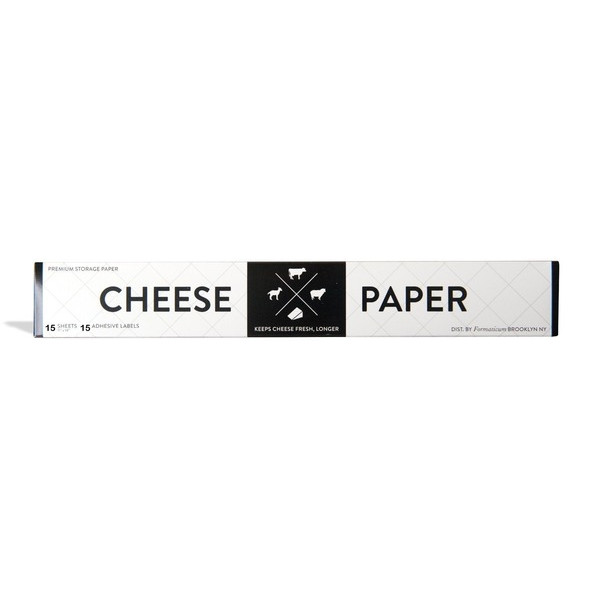 Formaticum Cheese Paper with 15 Adhesive Labels, Package of 15, 11 by 14-Inch