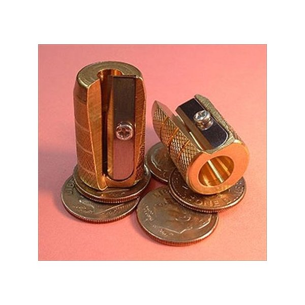 Alvin Brass Bullet Sharpener (1, DESIGN 1)