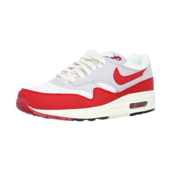Nike AIR MAX 1 OG SAIL/NEUTRAL GREY/BLACK/UNIVERSITY RED 554717-160