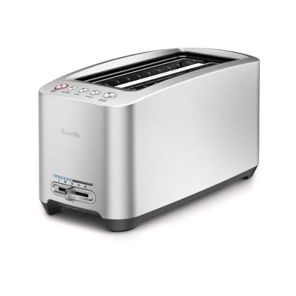 Breville BTA830XL Die-Cast 4-Slice Long Slot Smart Toaster