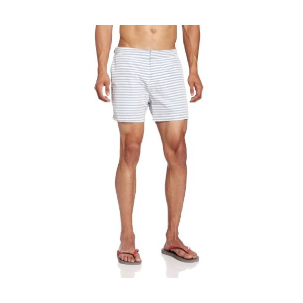 Scotch & Soda Men's Dress Swim Short with Side Tab
