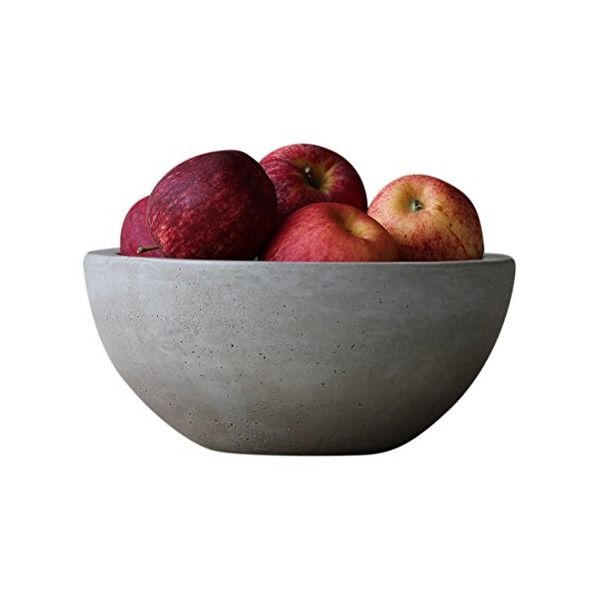 Scoutmob Home Concrete Fruit Bowl One Size