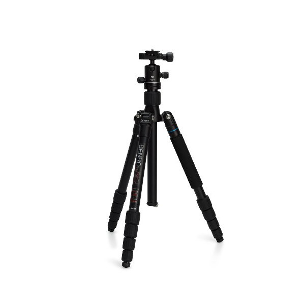 Benro A1692TB0 Travel Angel II Tripod Kit -Aluminum Twist Lock Legs with B0 Head (Black)