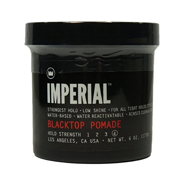 Imperial Barber Products Black Top Pomade 6 oz