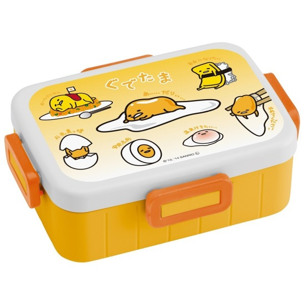 Gudetama Bento Box 4-point Lock Lunch Box 650ml