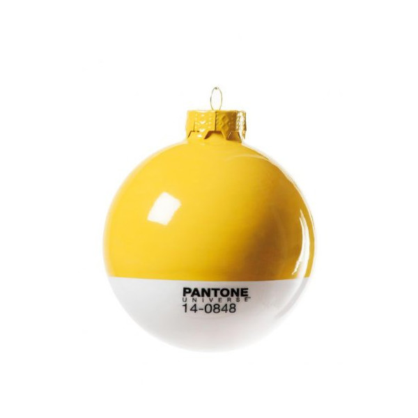 Pantone Ornament, Yellow