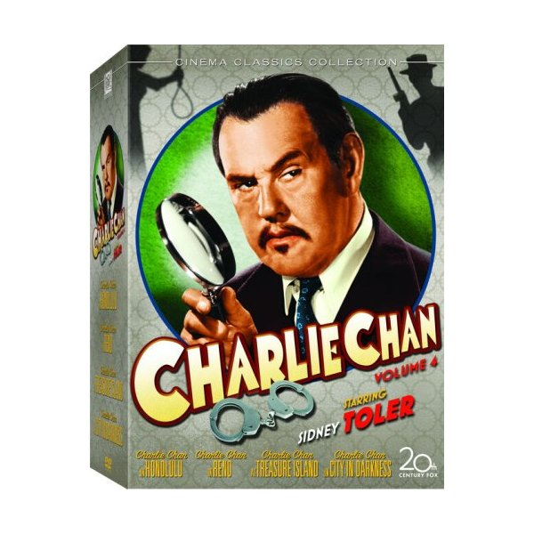 Charlie Chan Collection, Vol. 4 (Charlie Chan in Honolulu / Charlie Chan in Reno / Charlie Chan at Treasure Island / City in Darkness)
