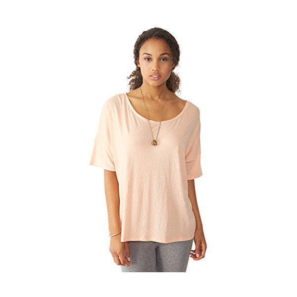 Alternative Women's Perfect Boxy Tee, Salmon, Small
