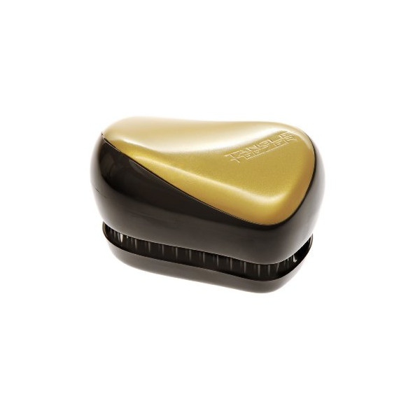 Tangle Teezer Compact Styler - Hair Brush - Black/Gold