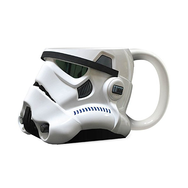 Official Stormtrooper Helmet Design 3D Ceramic Mug - Collectors Boxed
