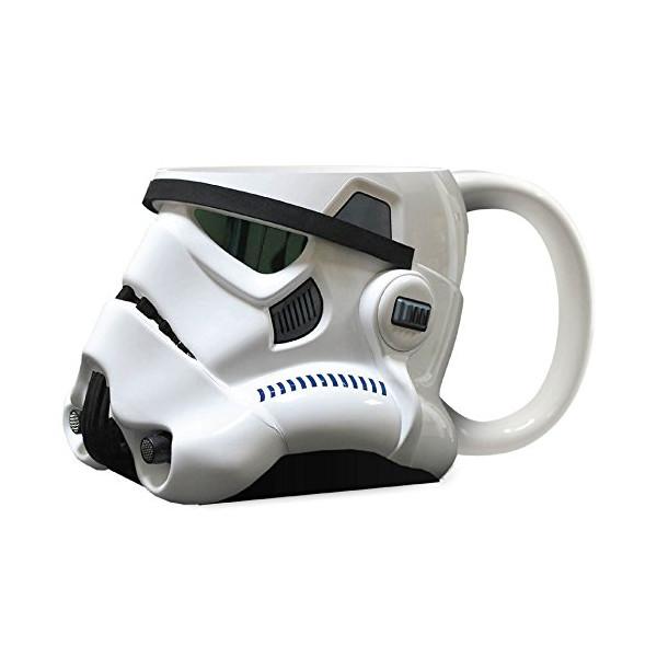 Official Stormtrooper Helmet Design 3D Ceramic Mug - Collectors Boxed