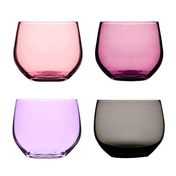 Sagaform Spectra Tumblers 4-Pack, Pink