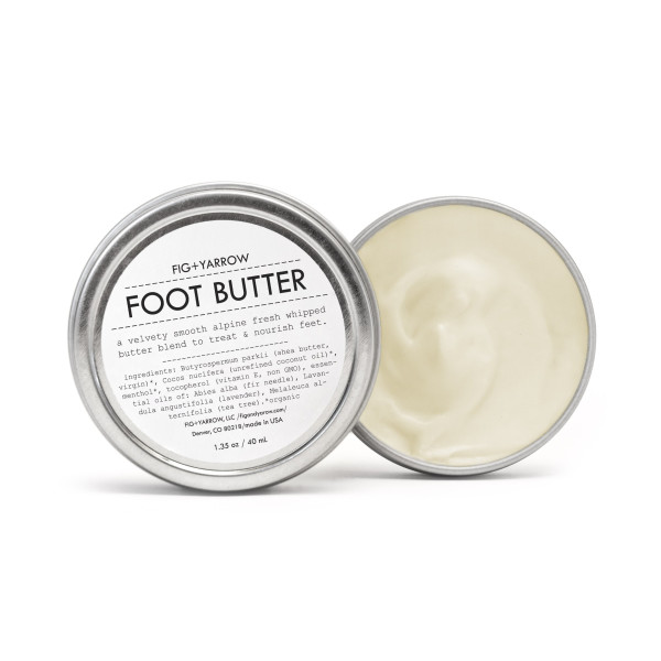 FIG+YARROW Organic Alpine Foot Butter