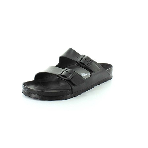 Birkenstock Men's EVA Arizona Sandal, Black, 44 EU (11 D(M) US Men)