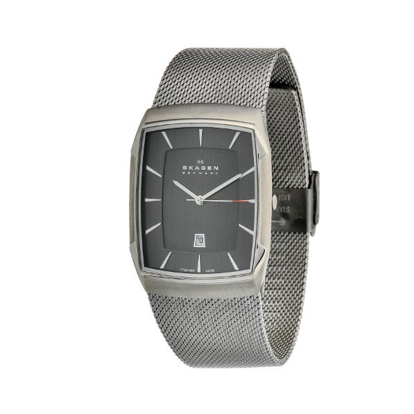 Skagen Aktiv Grey Mesh Men's Titanium Watch Skw6012