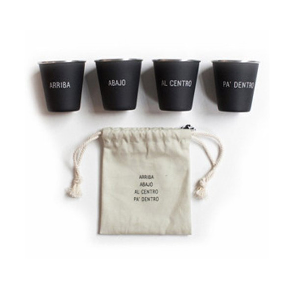 Izola Nested Shot Glasses, Spanish Toast
