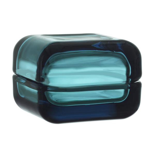 Iittala Vitriini Small Box, Sea Blue