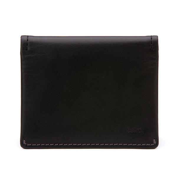 Bellroy Black Leather Slim Sleeve Wallet