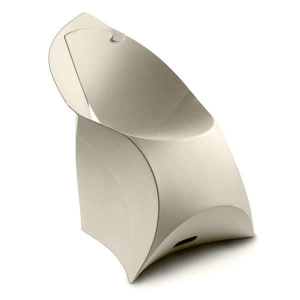 Flux Flat-Pack Chair, Pebble Gray