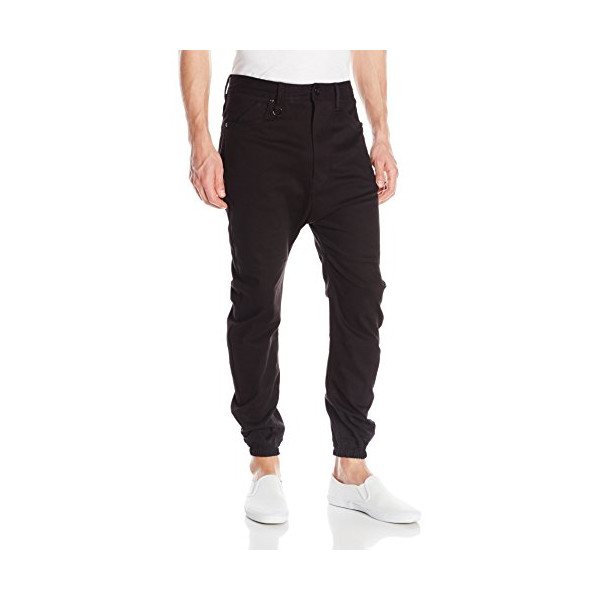 PUBLISH BRAND INC. Men's Newton Twill Jogger Pant, Black, 32