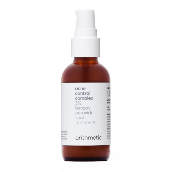 Arithmetic Acne Control Complex - Benzoyl Peroxide Spot Treatment for Sensitive Skin