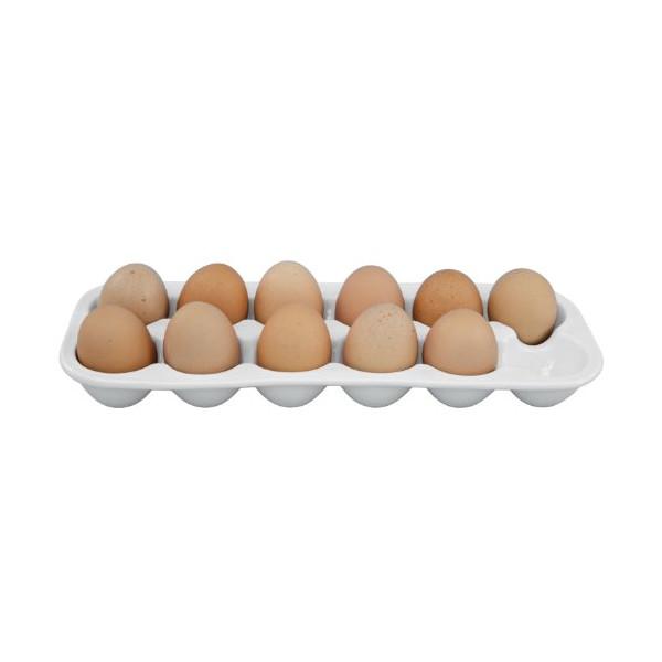 Elizabeth Karmel's 13-inch Porcelain Egg Crate, 12-Egg Capacity