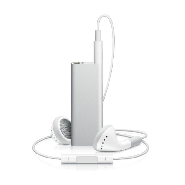 Apple iPod Shuffle, 3rd Generation, 4 GB, Silver