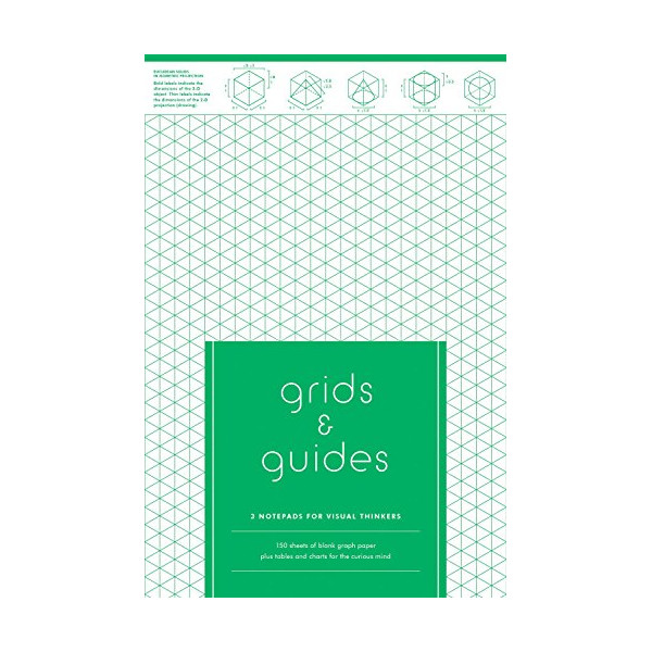 Grids & Guides: 3 Notepads for Visual Thinkers (Grids and Guides)