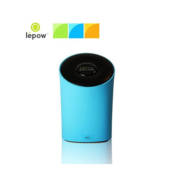 Lepow® Modre Portable Wireless Bluetooth Speaker - Ultra Portable, Powerful Sound, Stylish and Colorful with Built in Microphone (Blue)