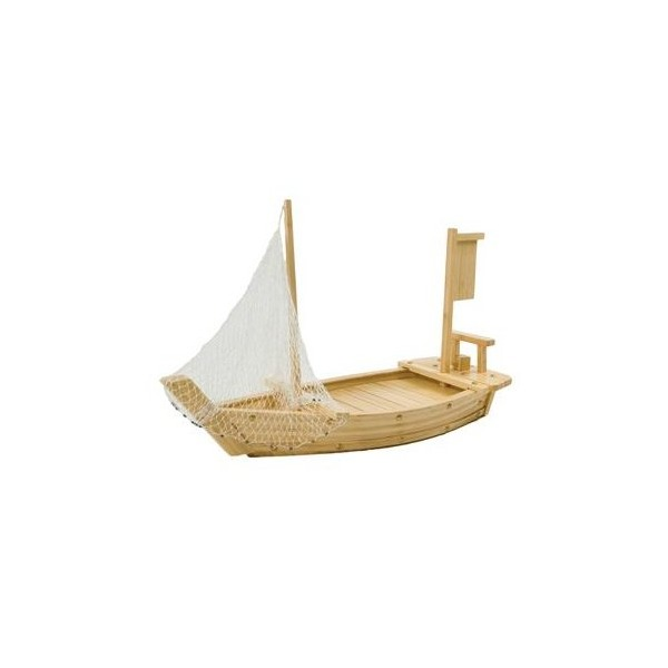 Wooden Sushi Boat 25 1/2 in.