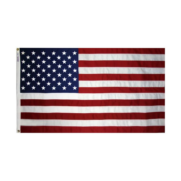Annin Tough-Tex Woven Polyester Replacement USA Flag, High Winds 3 by 5 Foot