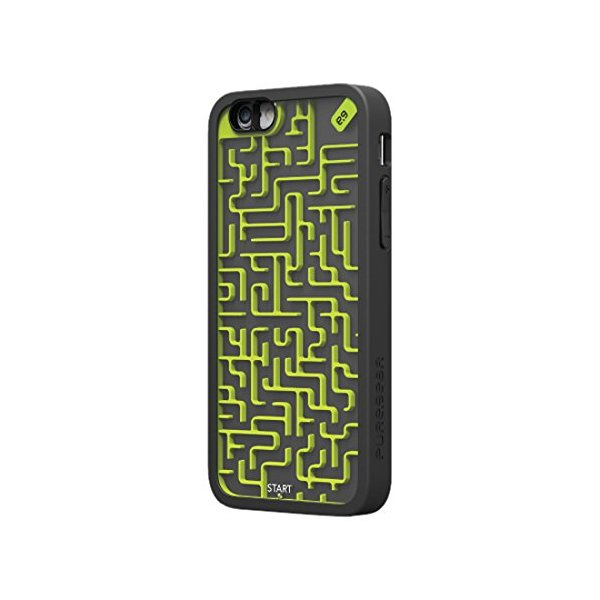 PureGear Phone Case for iPhone 6 - Retail Packaging - Black