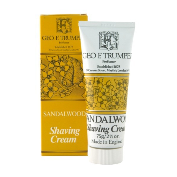 Geo F. Trumper Soft Shaving Cream in Tube, Sandalwood