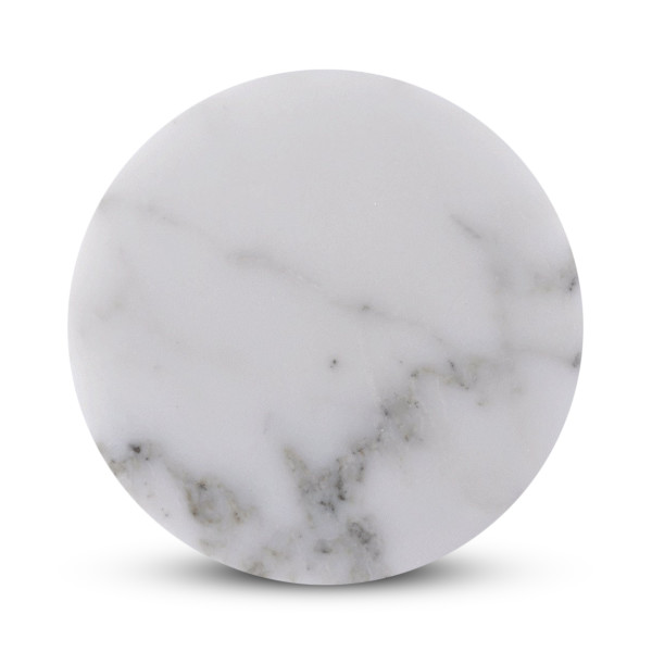 Natural Stone Marble Coasters, 6 pack